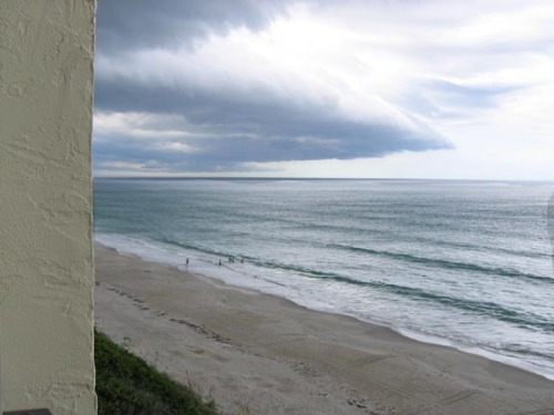Clouds over Melbourne Beach, Florida