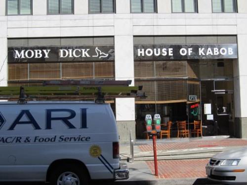 Moby Dick Kabob x